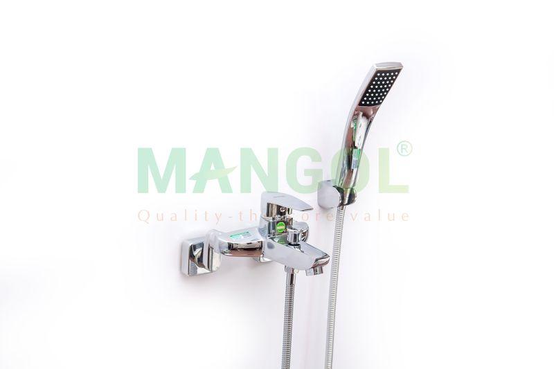 Bộ sen tắm nóng lạnh Mangol Mg205 - Hình ảnh khi đã lắp đặt -2