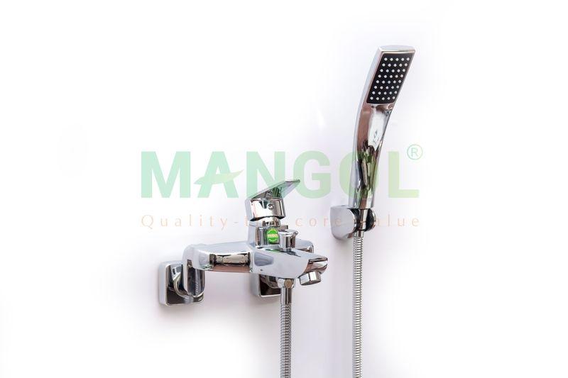 Bộ sen tắm nóng lạnh Mangol Mg205 - Hình ảnh khi đã lắp đặt