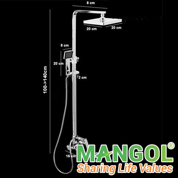 Những mẫu sen vòi Mangol phù hợp với không gian phòng tắm sang trọng 1