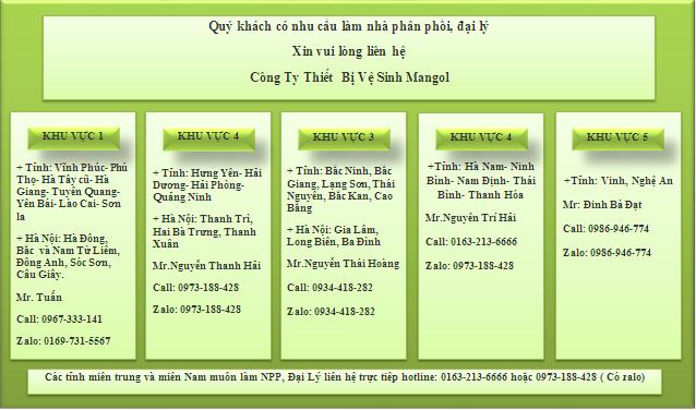 Các lợi ích khi làm nhà phân phối sen vòi Mangol như sau: 1