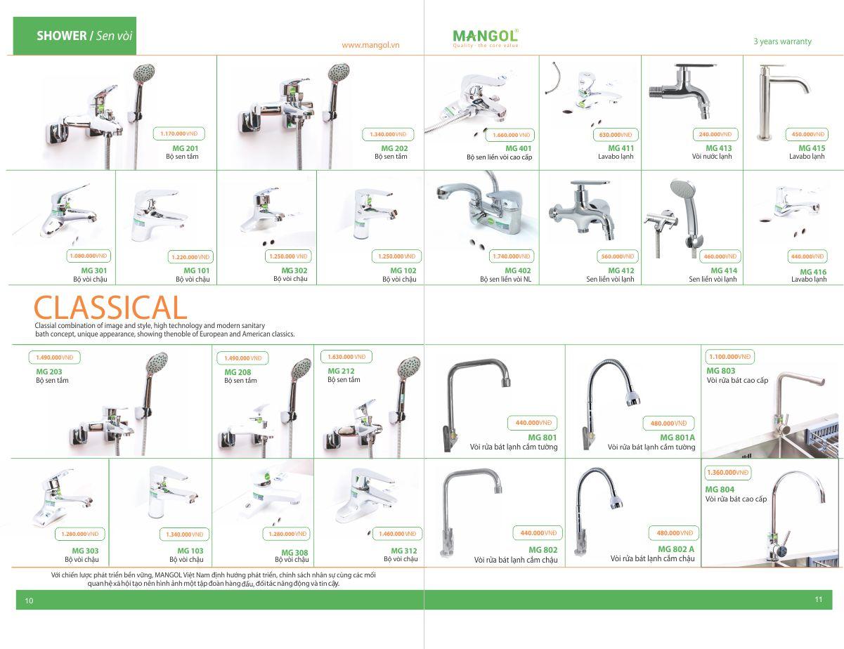 Catalogue MANGOL 6
