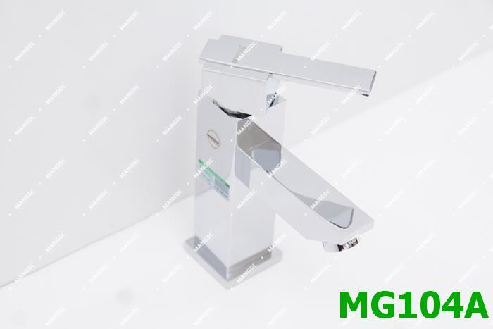 BỘ VÒI CHẬU NÓNG LẠNH MANGOL MG104A 1