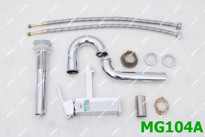 Hình ảnh bộ vòi chậu nóng lạnh Mangol MG104A 34