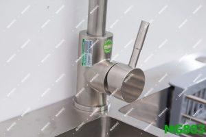 Vòi rửa bát inox nóng lạnh MANGOL MG803 7