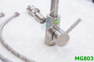 Vòi rửa bát inox nóng lạnh MANGOL MG803 6