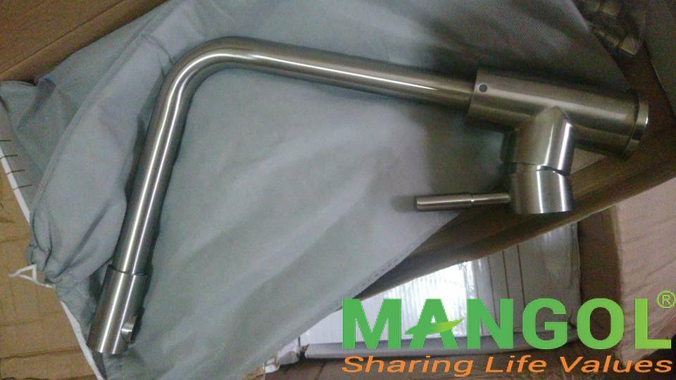 Vòi rửa bát inox 304 cao cấp MG803 2