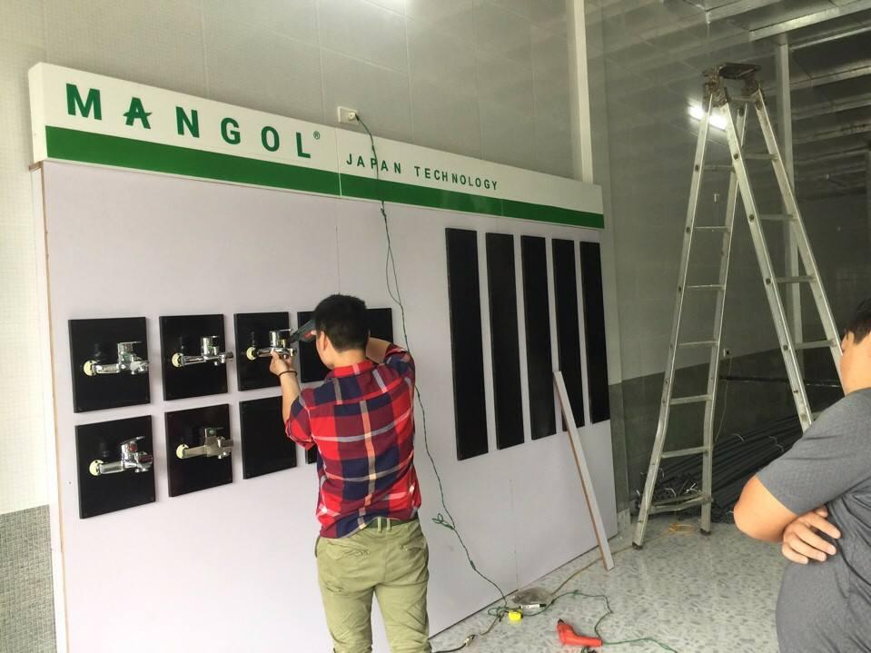 Khai trương đại lý phân phối sen vòi Mangol tại Hà Tĩnh 1