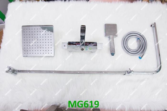 Hình ảnh chi tiết bộ sen cây cao cấp Mangol Luxury MG619 6
