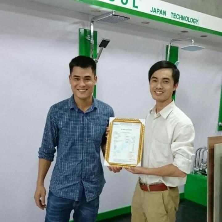 Nhà phân phối sen vòi thiết bị vệ sinh Mangol tại Bắc Giang 2