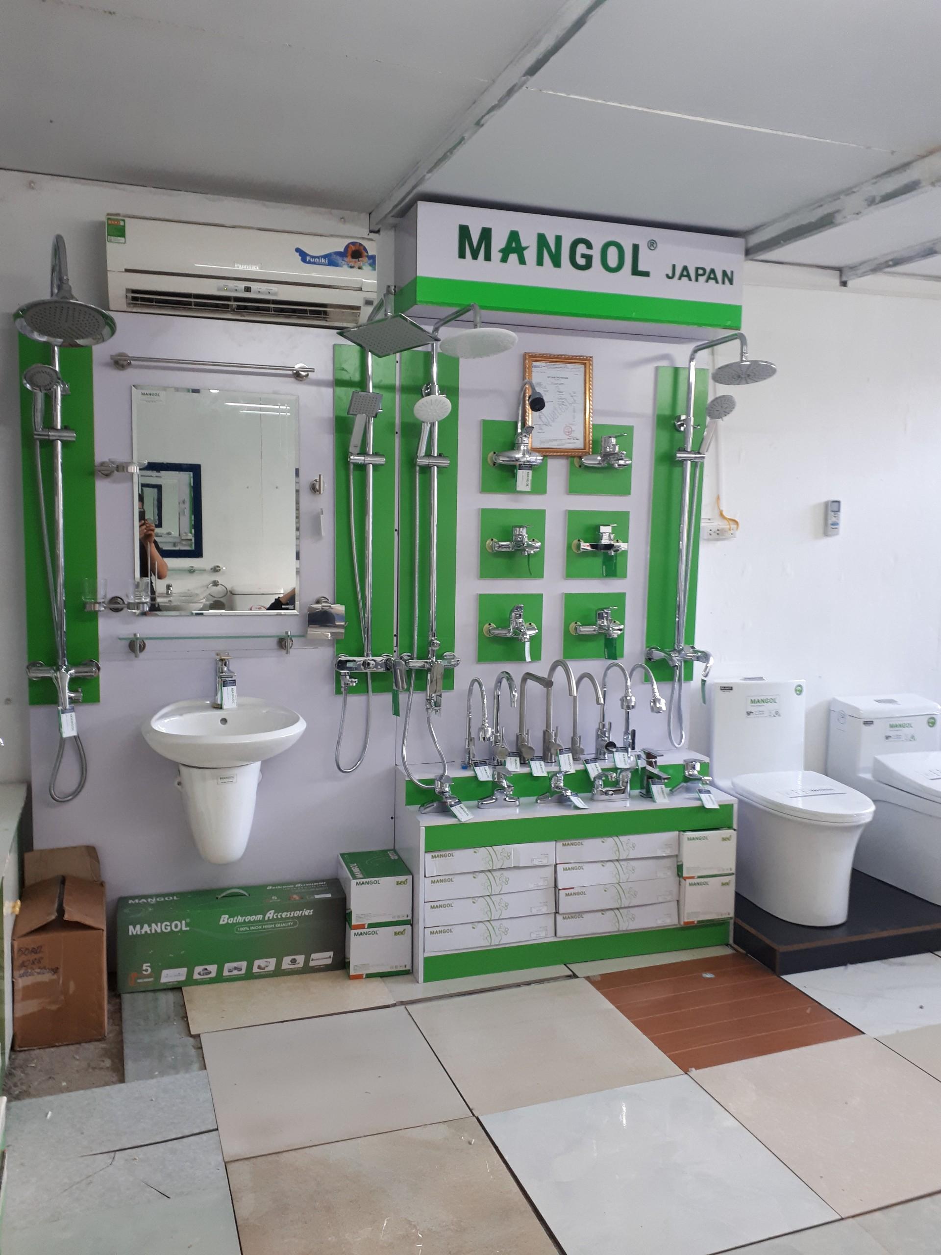 Ảnh giá kệ thiết bị vệ sinh Mangol 2m4 x 2m4