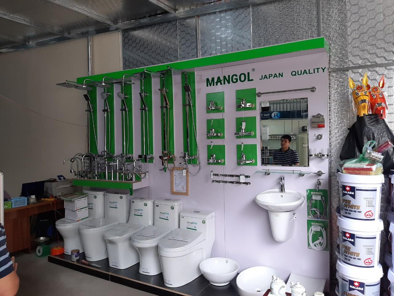 Đơn hàng giá kệ, kinh doanh thiết bị vệ sinh
