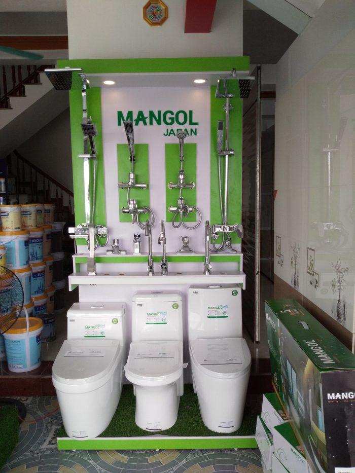 Ảnh giá kệ thiết bị vệ sinh Mangol 1m2 x 2m4