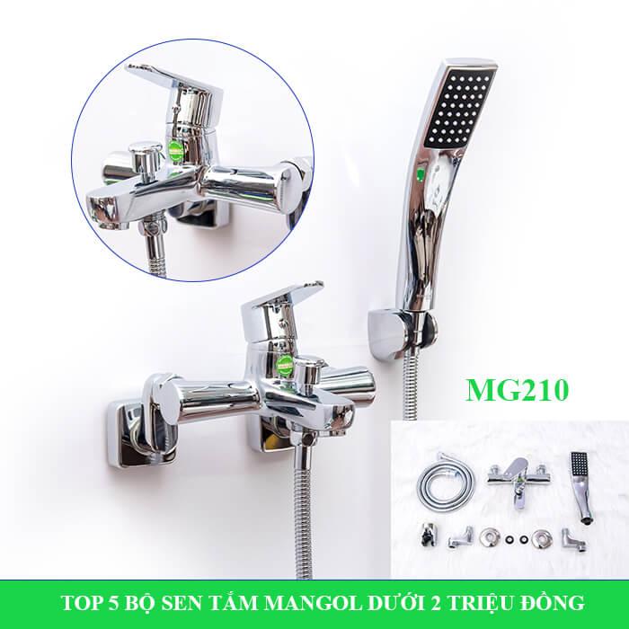 Bộ sen tắm Mangol Mg210