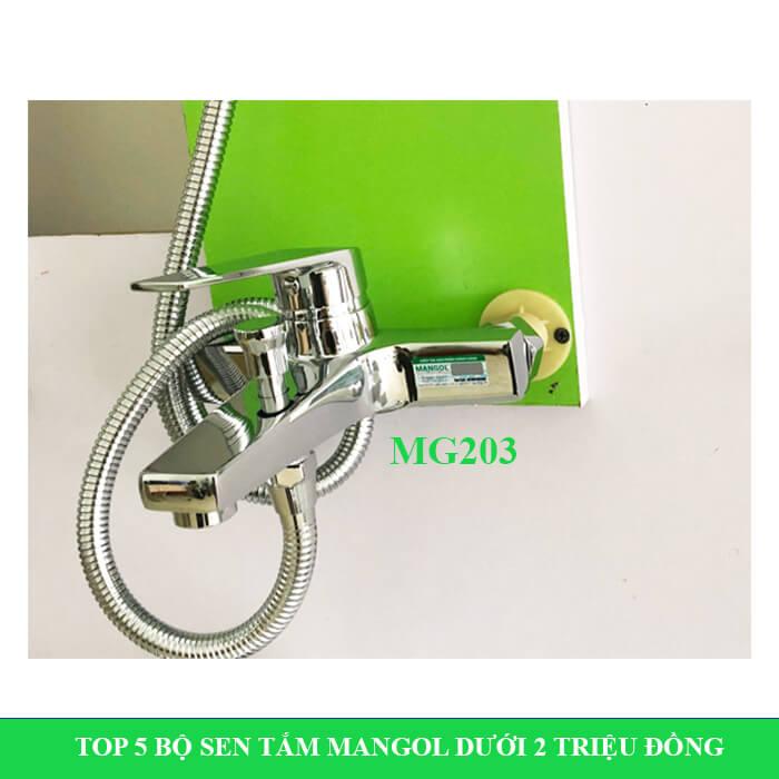 Bộ sen tắm nóng lạnh Mangol Mg203