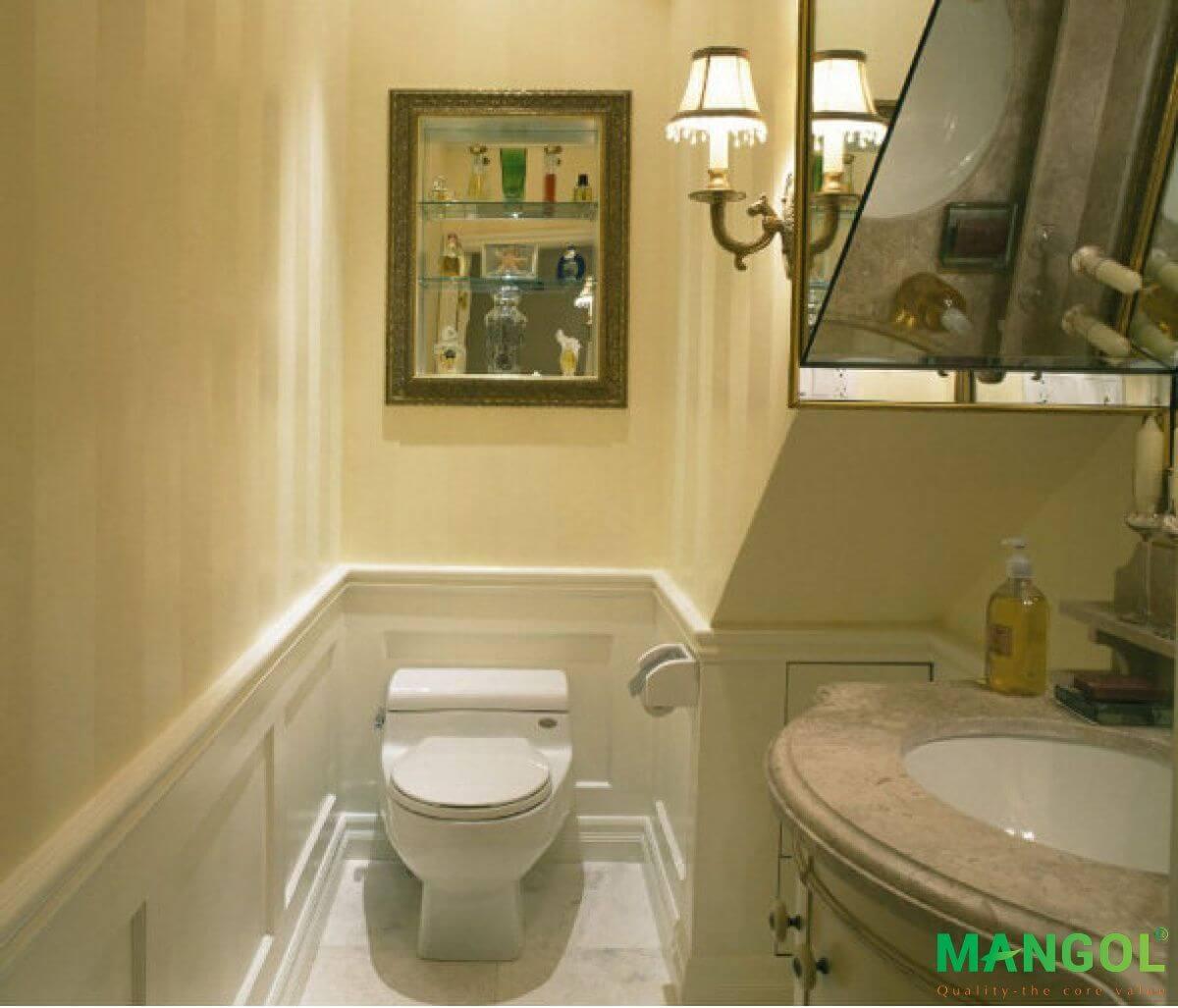 Xây nhà vệ sinh dưới gầm cầu thang -10