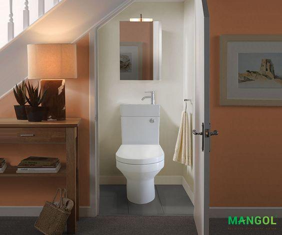 Xây nhà vệ sinh dưới gầm cầu thang -12