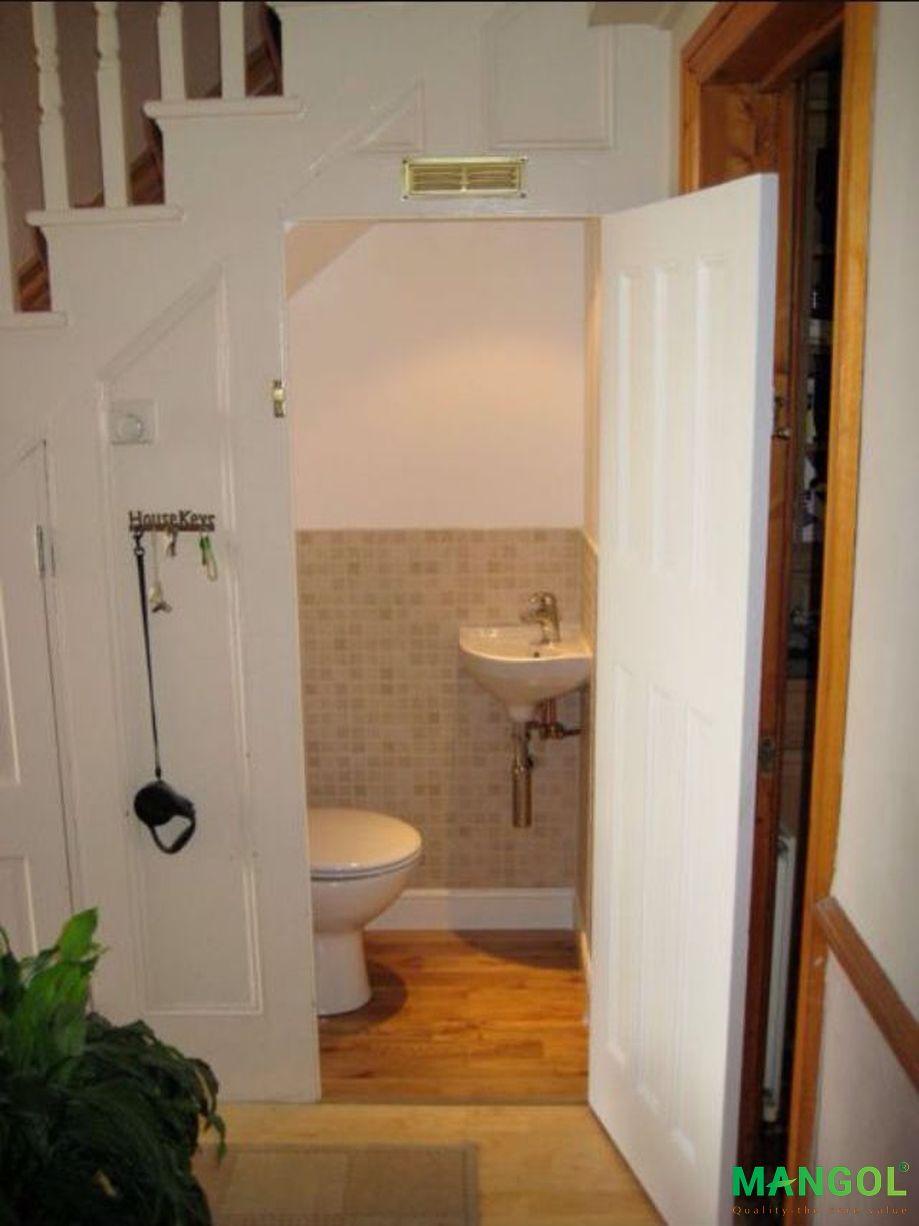 Xây nhà vệ sinh dưới gầm cầu thang -3