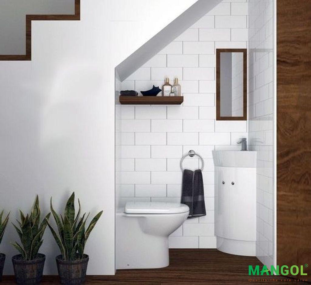 Xây nhà vệ sinh dưới gầm cầu thang -6