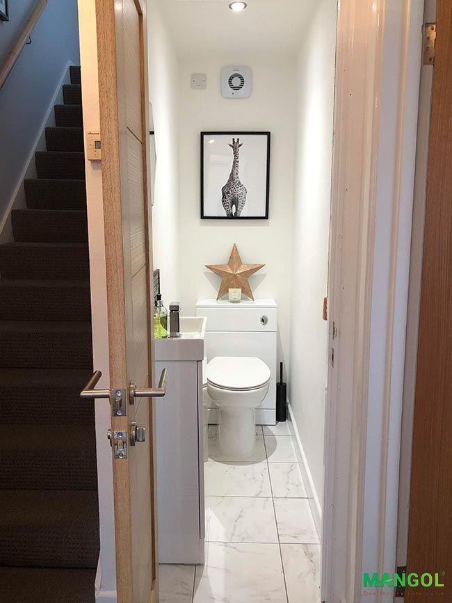 Xây nhà vệ sinh dưới gầm cầu thang -7